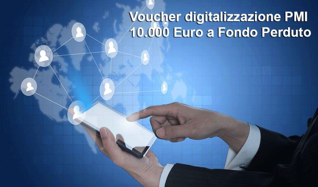 Voucher per la digitalizzazione delle PMI. Invio domande entro il 9 febbraio