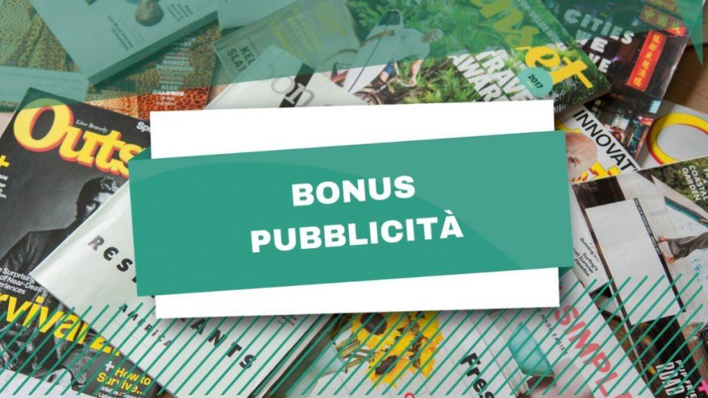 Bonus pubblicità, entro fine mese la dichiarazione sugli investimenti effettuati